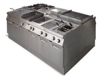 zanussi evo modular cooking range